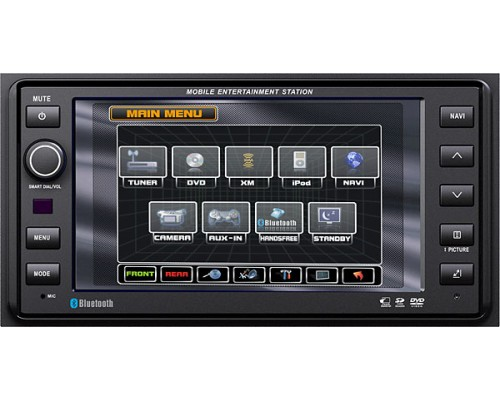 DISCONTINUED - OEM Quality Replacement Navigation and DVD receiver for select 2003-up Toyota and Scion vehicles