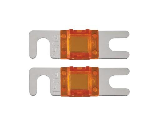 T-Spec V8-MANL150 Pack of 2 V8 Series 150 Ampere Nickel Plated MANL Fuses