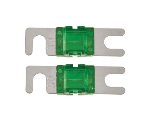 T-Spec V8-MANL30 Pack of 2 V8 Series 30 Ampere Nickel Plated MANL Fuses