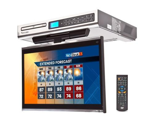 Venturer KLV3915 Under Cabinet Kitchen TV - Right side of TV