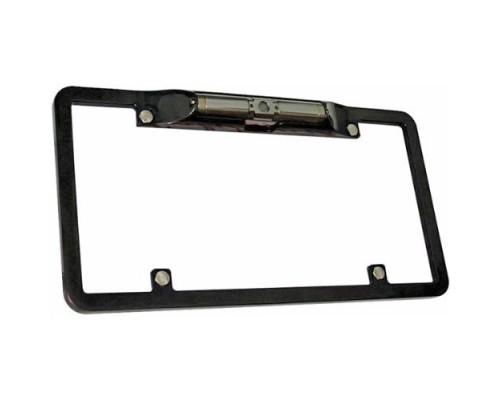 Boyo (Vision Tech) VTL300C License Plate Mount Black Aluminum Camera 130 Degree Wide Viewing Angle CMOS