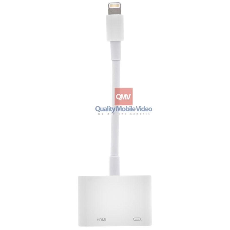 Adapter Lightning Digital Av Adapter Adapter Usb Aux Audi European Power Adapter Laptop Headset Adapter Xbox One Gamestop: Apple® MD826AM Lightning To HDMI Digital AV Adapter