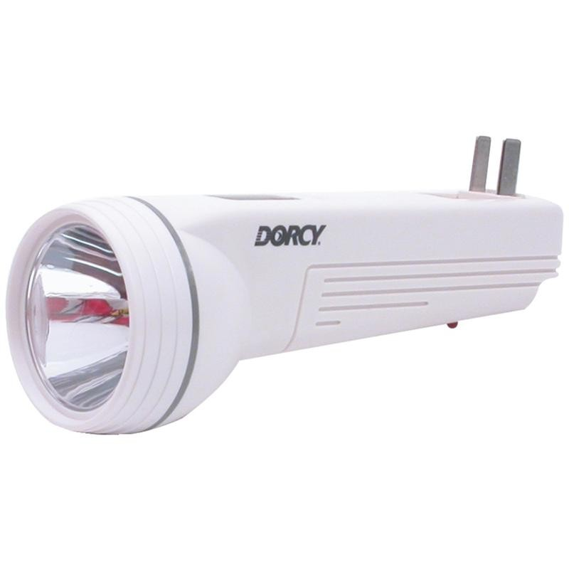 Dorcy 41 1045 Led Rechargeable Flashlight With Car Adapter