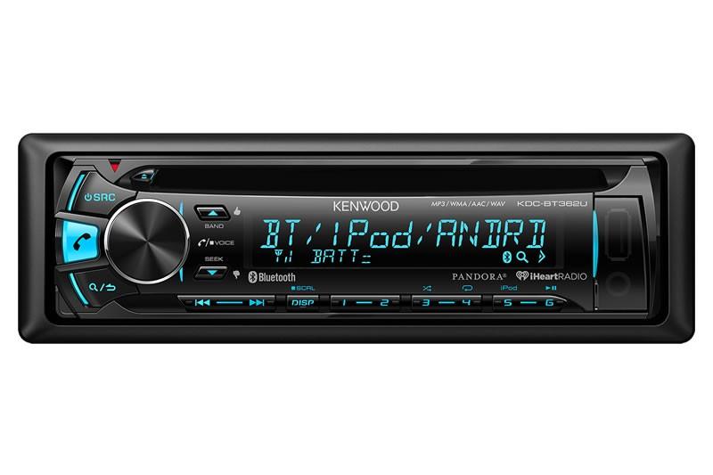 Kenwood Kdc Bt362u Car Stereo Cd Receiver With Bluetooth