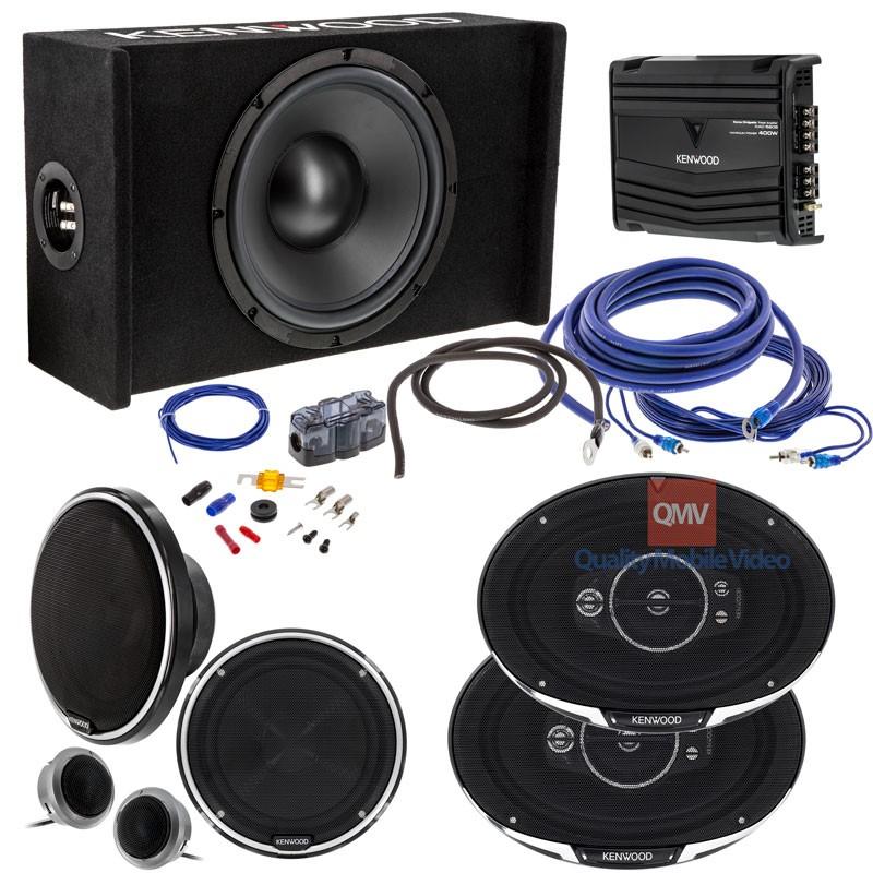 Kenwood Kw Syspkg1 Complete Car Stereo System