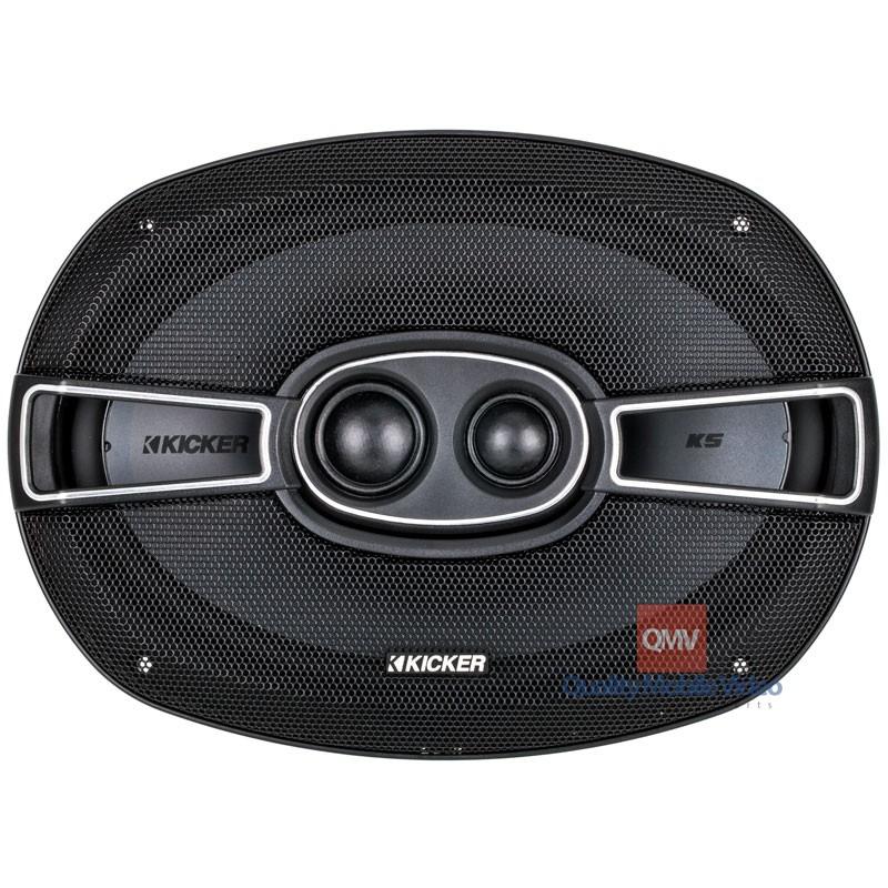 kicker 41ksc6934 ks series 6x9 inch 3 way coaxial car speakers. Black Bedroom Furniture Sets. Home Design Ideas