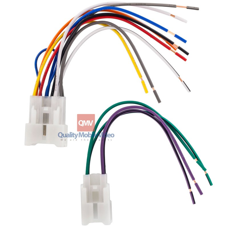 Metra Wiring Harness Diagram Toyota : Metra turbowires for toyota scion  wiring