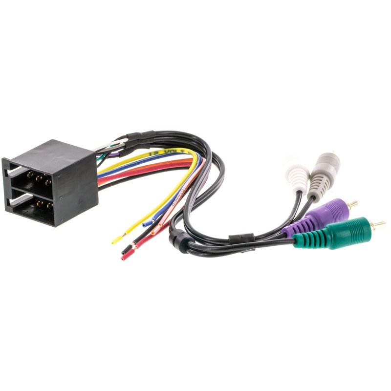 metra 70 1786 car stereo wiring harness for 1991 2004 land rover and mercedes vehicles