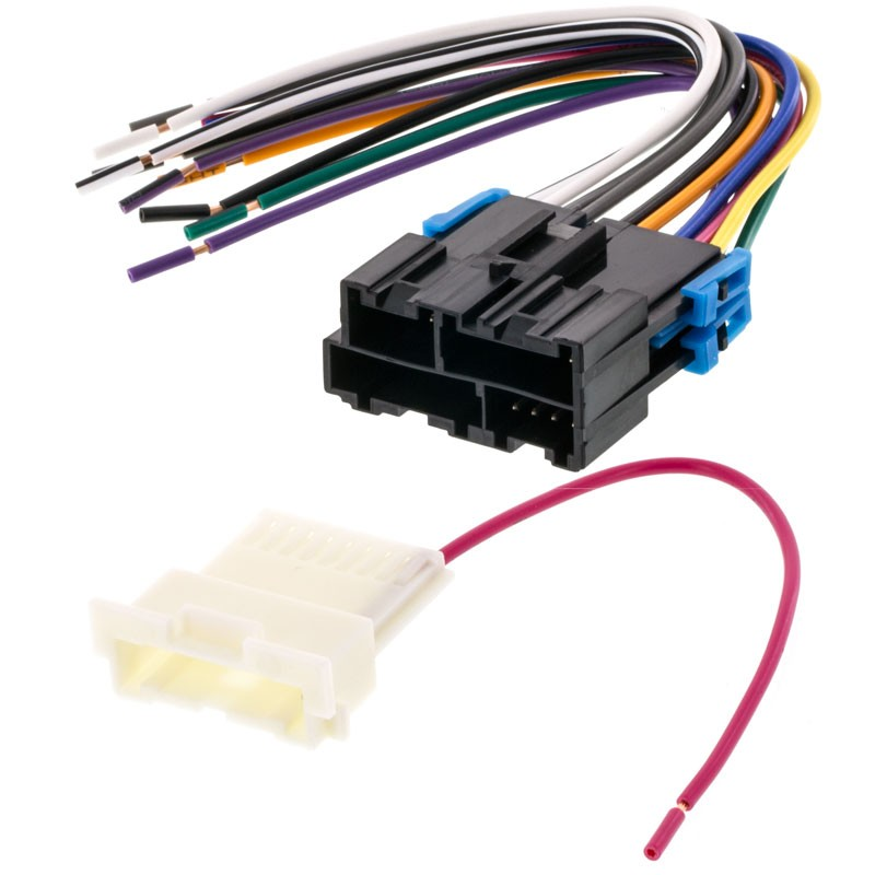 Metra 70-1859 Car Stereo Wiring Harness for 1999 - 2002 GM Vehicle with  factory amplifierQuality Mobile Video