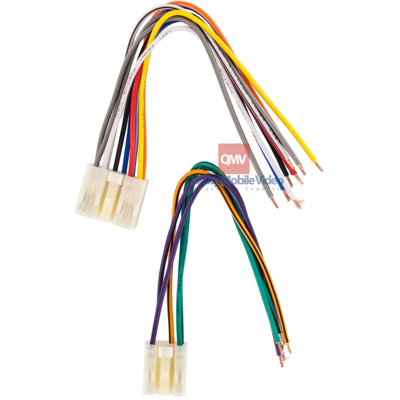 metra 71 1761 car stereo wire harness for 1987 2007 toyota and scion