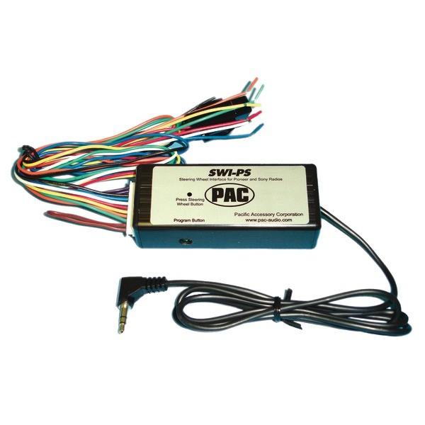 pac swi ps pioneer and sony universal steering wheel radio