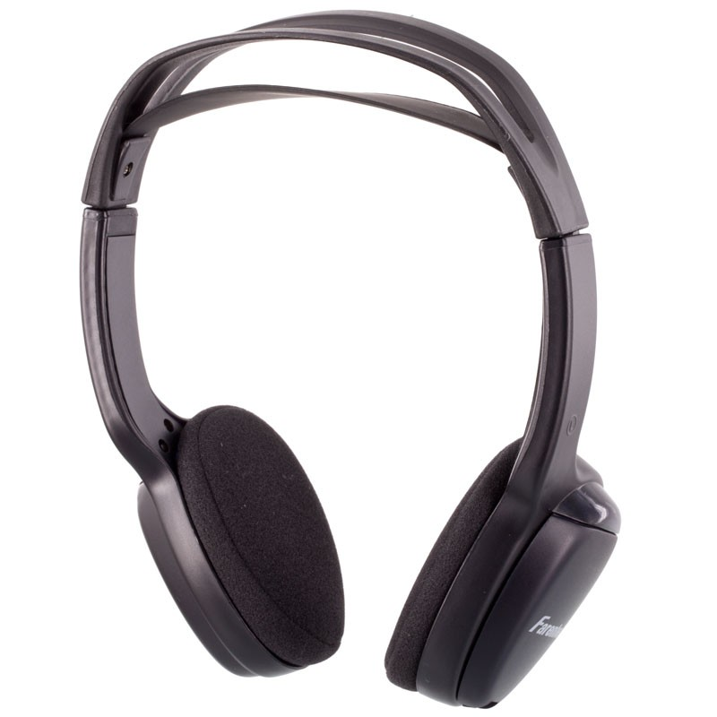Power Acoustik Wlhp 100 Ir Infrared Wireless Headphones