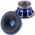 Power Acoustik MOFO-122X MOFO Series X 12 Inch Competition Subwoofer with Dual 2 Ohm 4 Layer Voice Coils