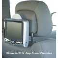 2010 - 2011 Dodge Caliber Rosen AV7700 Seat back mounted DVD system for Active Headrests