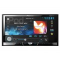 DISCONTINUED - Pioneer AVH-X5500BHS Double DIN Multimedia DVD Receiver with 7 inch touchscreen Display, AppRadio Mode, Sirius XM ready, Bluetooth, and MIXTRAX