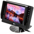 Boyo VTM5000 5 inch LCD Monitor with Pedestal Stand and Headrest Shroud