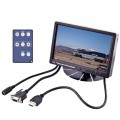 "Accelevision LCDP7WVGAHBLS 7"" Sun Light Readable LCD monitor with VGA input - 1000 NIT High Brightness"