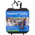 Headset Caddy Protective Case for Wireless Headphones and Headsets
