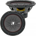 Kicker 43CWR124 CompR Series 1000 Watt 12 inch Subwoofer - Dual 4 Ohm Voice Coil
