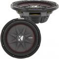 Kicker 43CWRT122 CompRT 1,000 Watt 12 inch Shallow Mount Subwoofer - Dual 2 Ohm Voice Coil