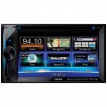 "DISCONTINUED - Clarion NX602 6.2"" Double-DIN In-Dash Navigation Multimedia Station with DVD Player"