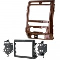 Metra 95-5822CM Curly Maple Double Din Radio Installation Kit for 2009 - 2012 Ford F-150 Lariat