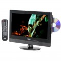 """NAXA NTD-1552 16"""" Widescreen LED HDTV with Built-In Digital TV Tuner and DVD Player"""