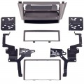 Metra 99-7609G Double DIn and Single DIN Turbo Kit for 2000 - 2004 Infiniti I30 / I35 Color - Grey finish
