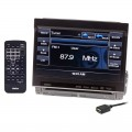 "Discontinued - Clarion VZ401 7"" Single-DIN Multimedia Control Station with USB Port and Built-in Bluetooth"