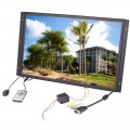 Pyle PLVW19IW 19 inch Raw TFT LCD Monitor In Wall Mount Flat Panel with RCA and VGA Inputs