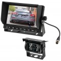 Safesight SC9012 7 inch Reverse Backup Camera System with 120 Degree Wide Angle Camera