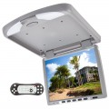 Tview T144DVFDGR 14 Inch Overhead DVD Player with IR and FM Transmitter - Grey