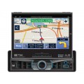 Discontinued - Dual XDVDN9131 7 Inch In Dash Touch Screen Single DIN Motorized TFT LCD Monitor and DVD Receiver with GPS Navigation, Bluetooth plus iPod Control