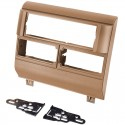Metra 99-3000BR Car Stereo Dash Kit for 1988 - 1994 Chevrolet, and GMC trucks and SUV's - Brown