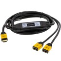 Accelevision HDMIY HDMI Y-Spliiter 1 Input to 2 Output