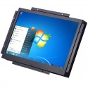 Accelevision LCDM12WVGA 12 inch Metal Housed LCD Monitor with VGA, and S-Video