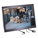 Quality Mobile Video QMV-LCDM154WVGAH 15.4 inch Widescreen Metal Housed LCD Monitor with VGA and HDMI inputs