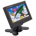 DISCONTINUED - Zicom ZH58P3 5.8 inch Widescreen LCD Monitor with Shroud and Stand
