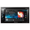 DISCONTINUED - Pioneer AVH-X1500DVD Double DIN Multimedia DVD Receiver with 6.1 inch touchscreen Display, iPod control, Pandora support, and MIXTRAX