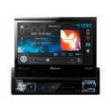 "DISCONTINUED - Pioneer AVH-X7500BT 7"" Single-DIN In-Dash DVD Multimedia A/V Receiver with AppRadio, Mixtrax, Built-in Bluetooth and Pandora"
