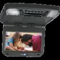 "Audiovox AVXMTG9BA 9"" Overhead Flipdown DVD player with SD and USB inputs - Black"