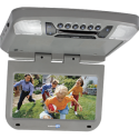 """DISCONTINUED - Audiovox AVXMTG9P 9"""" Overhead Flipdown DVD player with SD and USB inputs - Grey"""