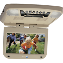 """DISCONTINUED - Audiovox AVXMTG9S 9"""" Overhead Flipdown DVD player with SD and USB inputs - Tan"""