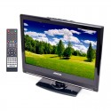 """Axess TV1701-15 15.4"""" HD LED TV with AC/DC power adapter"""