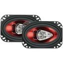 "Boss Audio CH4630 Chaos Series Speaker S(4"" x 6"" 3-Way Speaker)"