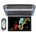 "DISCONTINUED - Clarus QMV-X10DVD 10"" Overhead DVD player and wireless game system with HDMI, SD and USB inputs"