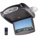 Concept Chameleon CFM-135 13 inch Overhead Flip Down LED Monitor with Built in DVD Player HDMI, USB, and SD Card Reader