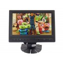 Quality Mobile Video CVFQ-E118 8 Inch Touchscreen LCD Monitor with VGA, AV, HDMI, Car Kit and Mounting Stand