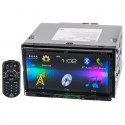 JVC KW-V41BT Bluetooth Enabled 7 Inches Motorized WVGA Display Multimedia Receiver with Touch Screen Panel for Vehicles
