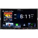 """Kenwood DNX875S Double DIN 6.95"""" In-Dash DVD/CD/AM/FM Receiver with GPS, Bluetooth, WebLink, Built-in HD Radio, Apple CarPlay and Wireless Android Auto"""